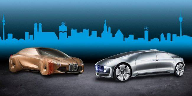BMW and Mercedes will engage in joint development of the autopilot
