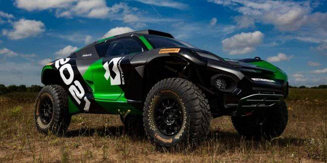 The racing electric SUV ODYSSEY 21