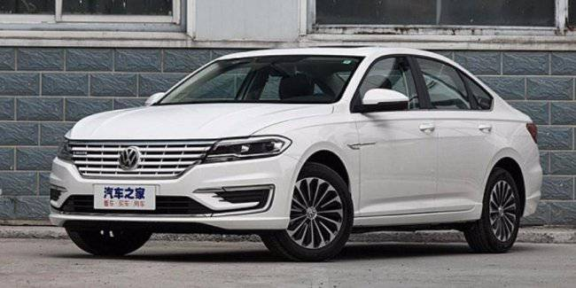 Volkswagen has prepared an electrical analogue of the new Jetta sedan