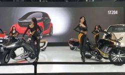 Songuo Motors has introduced 12 new concepts electrocycle