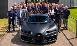 The new SUV Bugatti can accelerate to 500 km/h