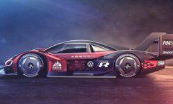 """Volkswagen """"decorated"""" electric ID.R for a new record"""