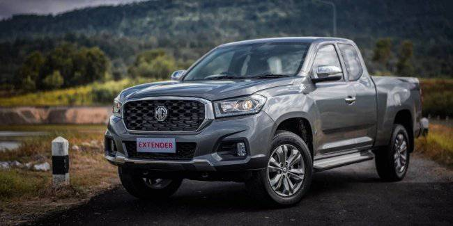 Under the British brand MG has released a Chinese pickup