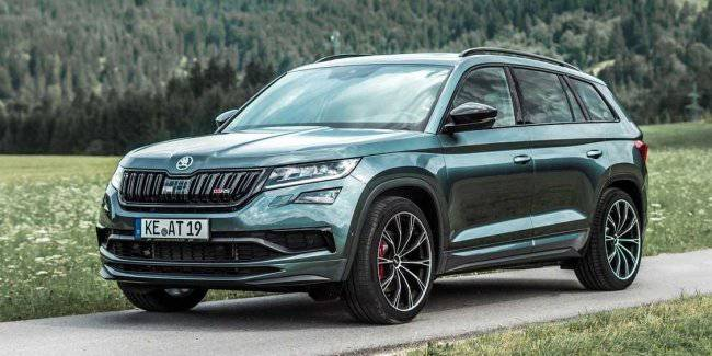 Skoda Kodiaq RS: more power and torque