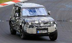 "New Land Rover Defender tested on the ""nürburgring"""
