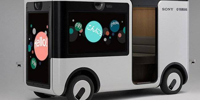 Sony and Yamaha will develop unmanned buses for Golf clubs