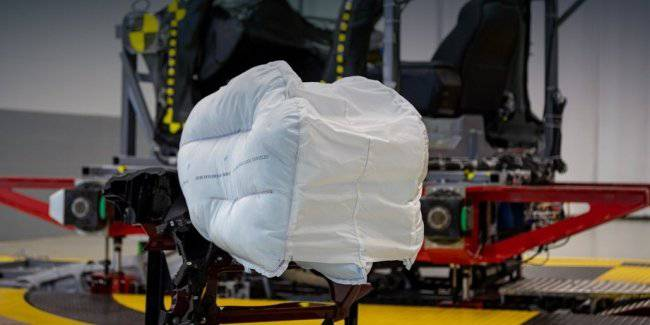 Honda will introduce in the USA a new airbag