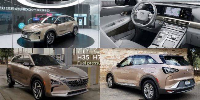Hyundai showed NEXO fuel cell in Shanghai
