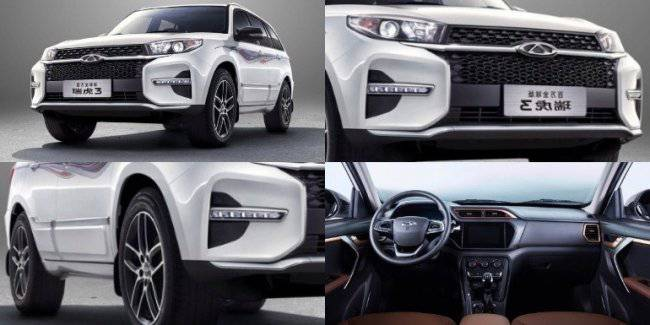 Chery has updated crossover Chery Tiggo 3