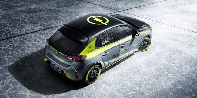 Opel Corsa-e will be the first rally of electric vehicles