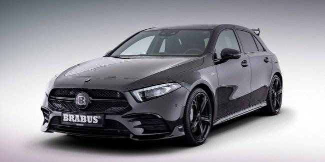 Bureau Brabus has offered two packages to the hatch Mercedes-AMG A 35
