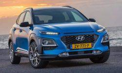 Hyundai introduced a hybrid version of the SUV Hyundai Kona