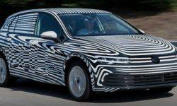 The new Volkswagen Golf came on the final tests