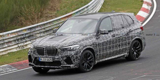 Published the first pictures of the interior of the new BMW X5 M