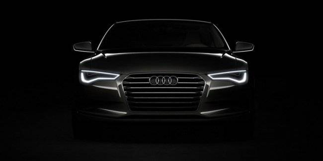 New lighting technology Audi can warn other drivers