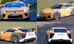 Lexus plans to release a successor to the LFA