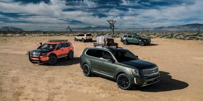 30,000 SUV Kia Telluride mixed belts