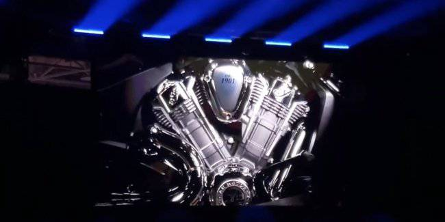 The Indian company have revealed a new Tourer with new engine V-twin with a capacity of 120 HP