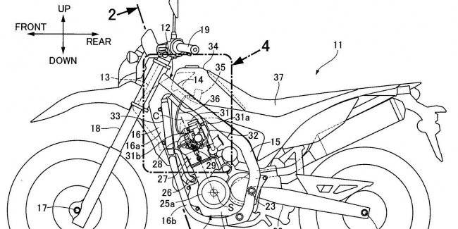 Honda motors patented Twin-Spark for CRF250L/CRF250 Rally