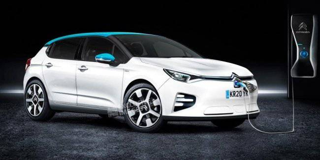 Citroen next year will show the replacement model C4