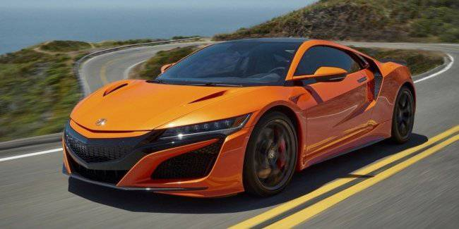 For a long time, but reliable: Acura prohibits dealers to carry out bodywork repairs of a supercar NSX