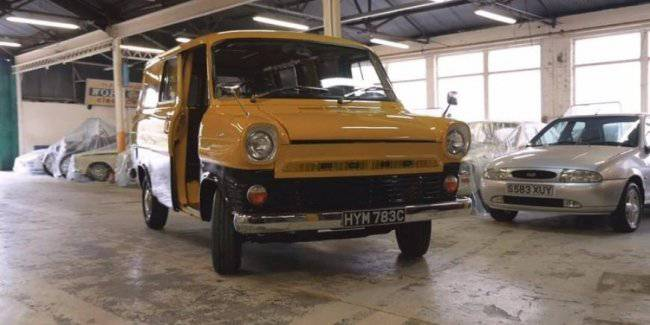 Classic Ford Transit will appear in a video game