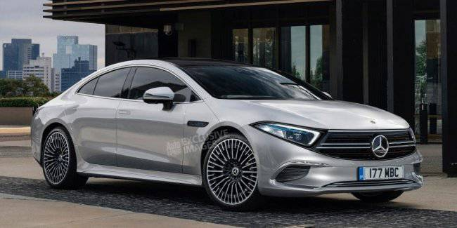 New electric car Mercedes EQS will be presented in 2022