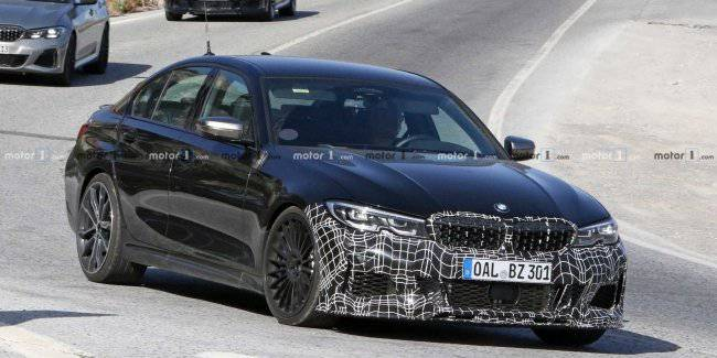 New Alpina B3 caught on tests with almost no camouflage