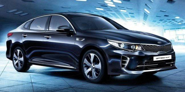 KIA Optima GT will get all-wheel drive