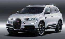 Bugatti prepares electric crossover
