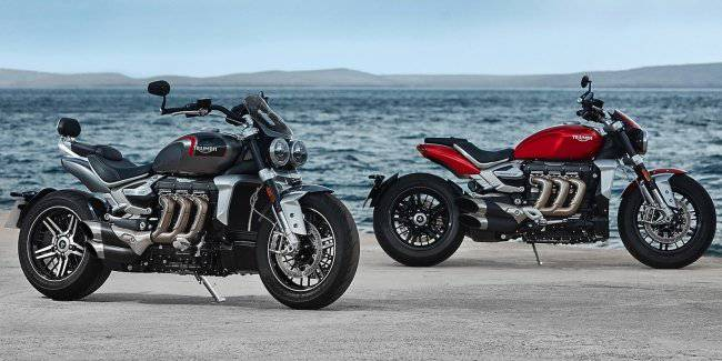 The company unveiled the new Triumph Rocket III
