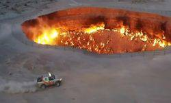 "The President of Turkmenistan made a drift near the ""Gates of hell"""