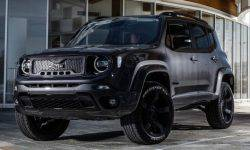 """Jeep Renegade turned to the """"evil"""" SUV"""