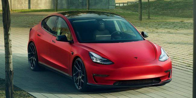 Electric car Tesla Model 3 can no longer be called modest