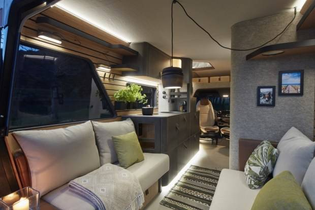 The company showcases the future of Hymer motorhomes concept VisionVenture