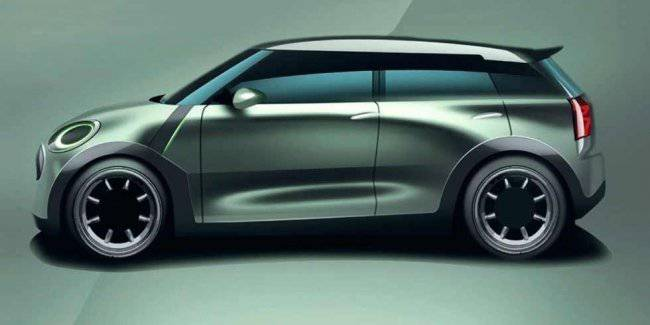 VW showed a new electric car, ID.3