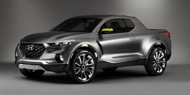 """Hyundai decided to """"charge"""" not yet released pickup"""