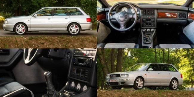 """Charged"" Audi RS2 Avant from the 90s will sell at auction"