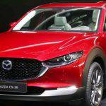 The new crossover Mazda CX-30 will get an electric version