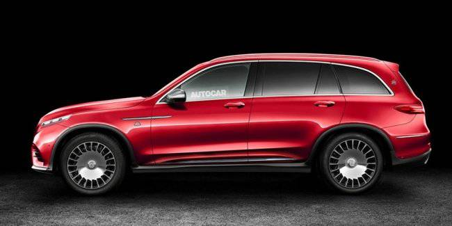 Luxury SUV Mercedes-Maybach will present in November of this year