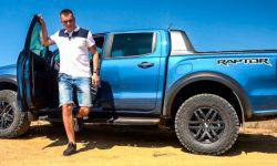Raptor. Ford has rolled out a new special version of the Ranger to the test