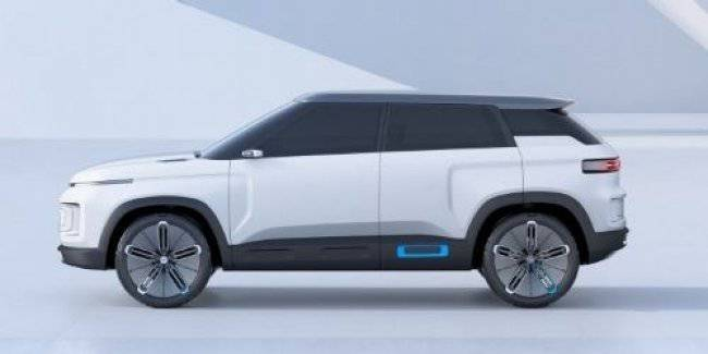 Another crossover on the basis of the Geely Volvo