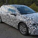Not yet declassified a prototype of the Skoda Octavia RS Combi was involved in an accident