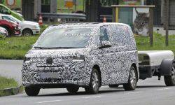 Volkswagen brought to the tests of the new T7