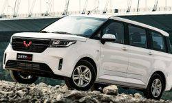 """The Chinese showed eight-seat compact MPV for the price """"Largus"""""""