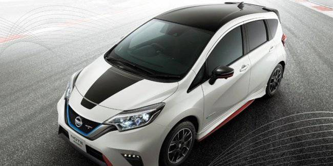 Nissan has released a special version of the model Note