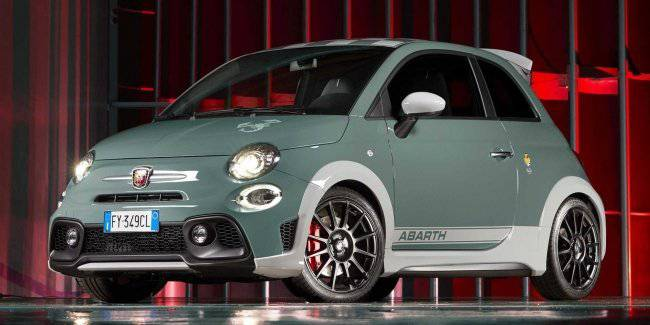 Hardcore Fiat 500 received a special modification