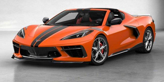 Chevy published prices for the most expensive coupe version of the Corvette 2020