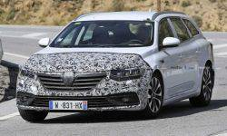 Updated Renault Talisman Wagon was first spotted on the roads