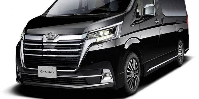 Toyota has introduced a new van Granace